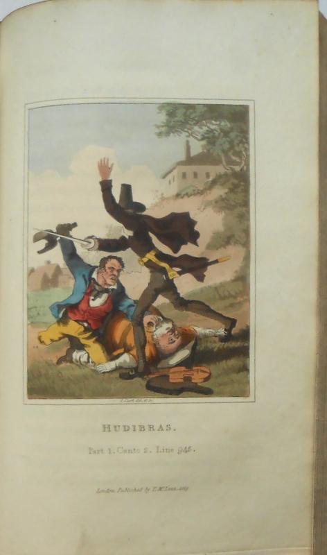 Image for Hudibras, A Poem. A New Edition (coloured plates)
