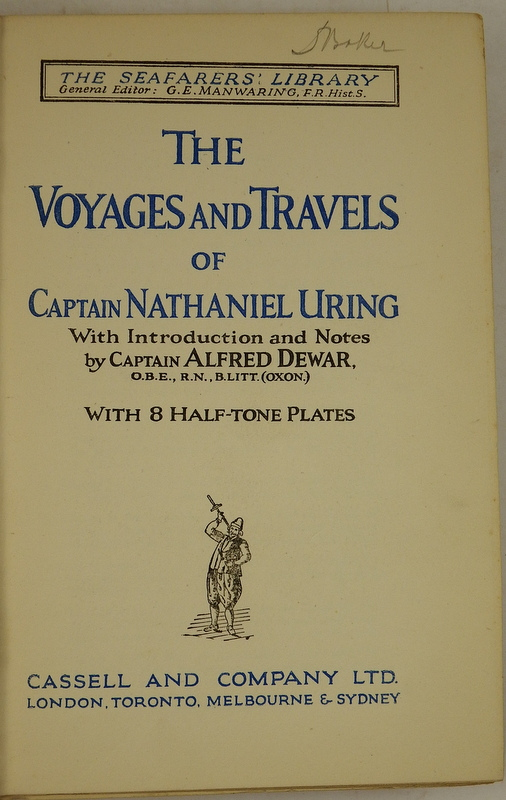 Image for The Voyages And Travels Of Captain Nathaniel Uring