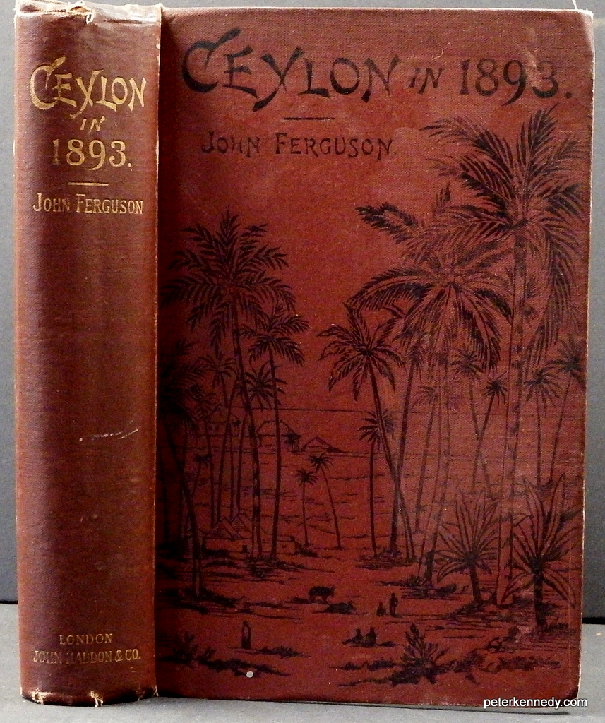 Image for Ceylon in 1893 describing the progress of the island since  1803