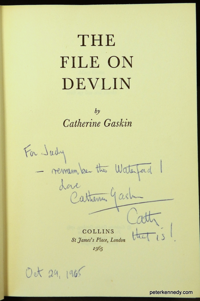 Image for The File on Devlin (presentation copy)