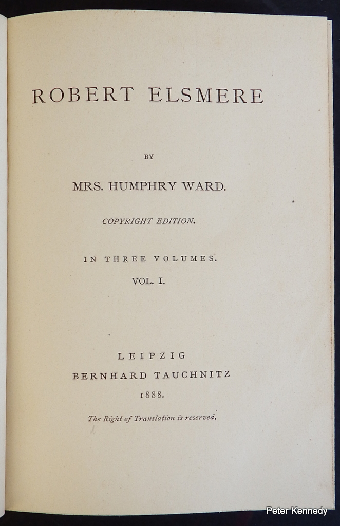 Image for Robert Elsmere