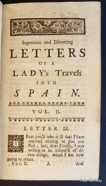 Image for Ingenious and Diverting Letters of a Lady's Travels into Spain....