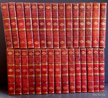 Image for Fine French Bindings 30 volume set: Oeuvres Completes des Rollin