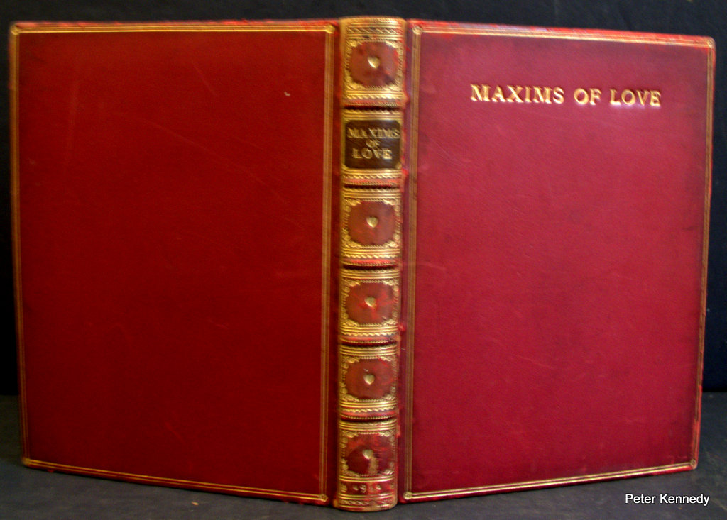Image for Fine Binding: Maxims Of Love