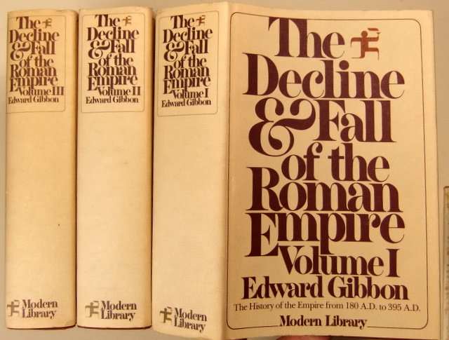 Image for The Decline and Fall of the Roman Empire (3 volumes)