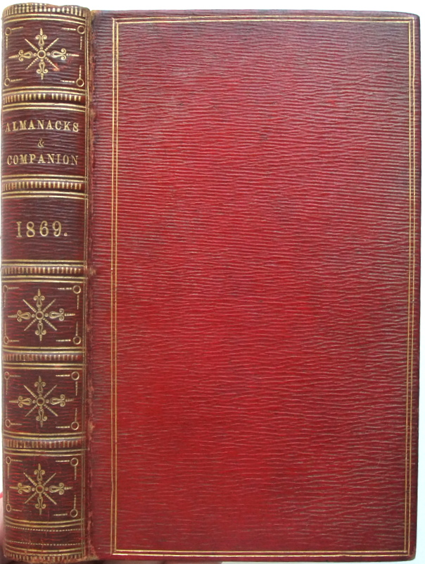 Image for The British Almanac for the year of Our Lord 1869 bound with: Vox Stellarum, a loyal almanack for 1869