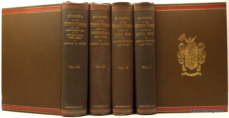 Image for Memoirs of the Verney Family (4 volumes)