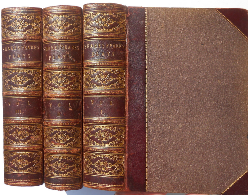 Image for The Plays of Shakespeare edited by Howard Staunton, three volumes